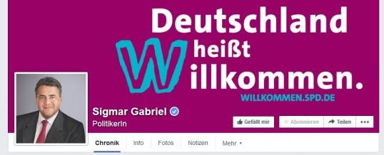 """SPD heißt """"Willkommen"""""""